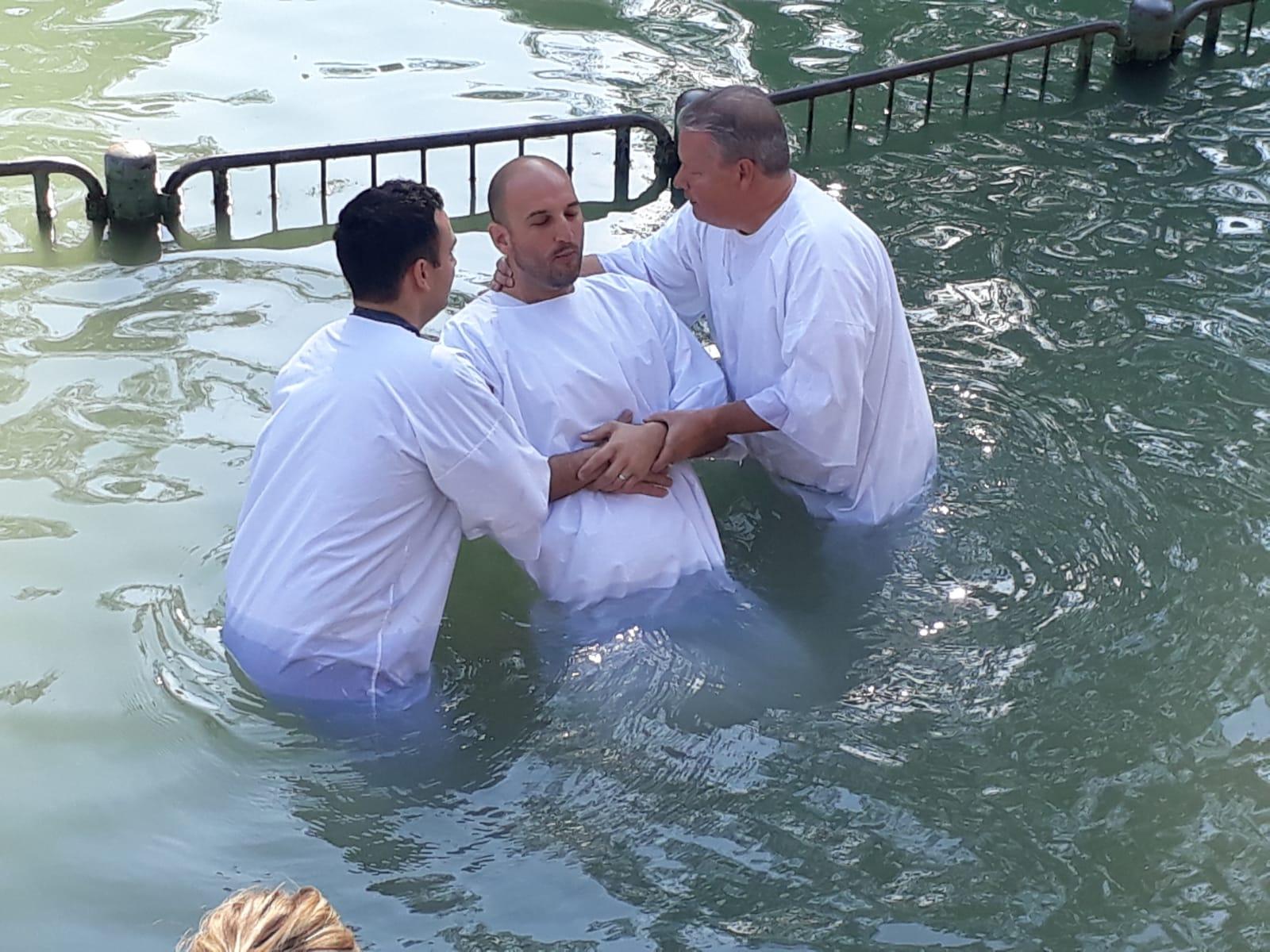 Jordan River baptism christian tour - friendshiptours.com