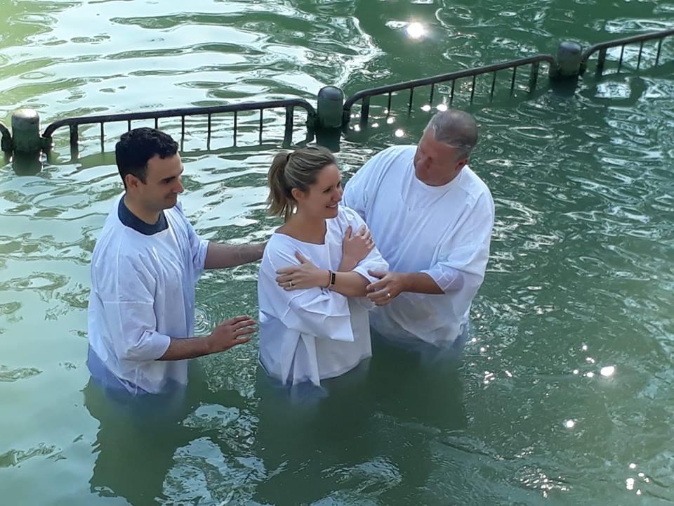 Jordan River israel baptism
