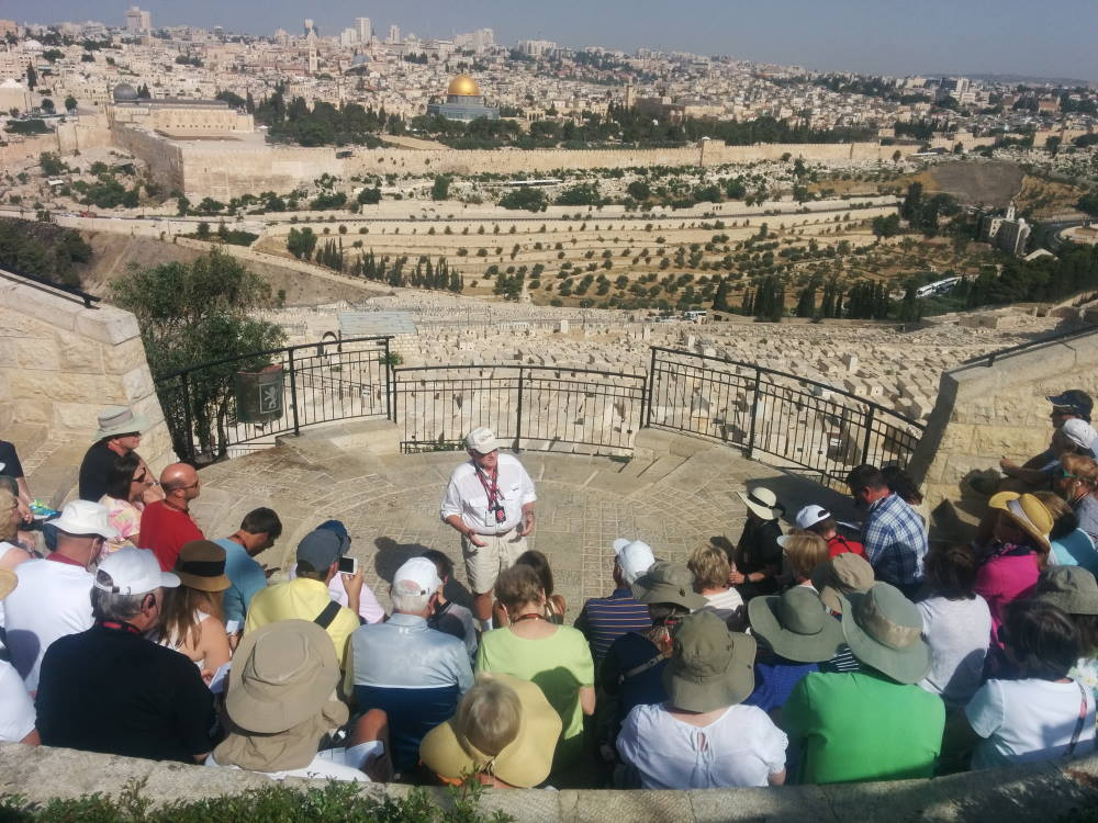 What A Tour Of The Holy Land Looks Like